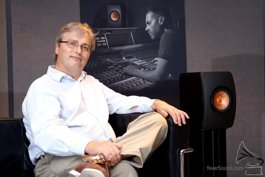 Mark Dodd說設計LS50的過程中,除了技術設計之外,還用它來試聽各種音樂。