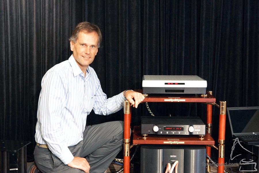 Andreas Koch 親自解說 Playback Designs 以及 DSD 的未來。