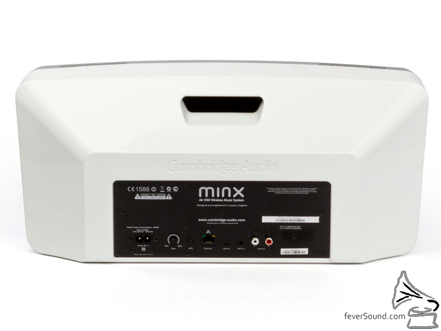 Cambridge Audio Minx Air 200 back