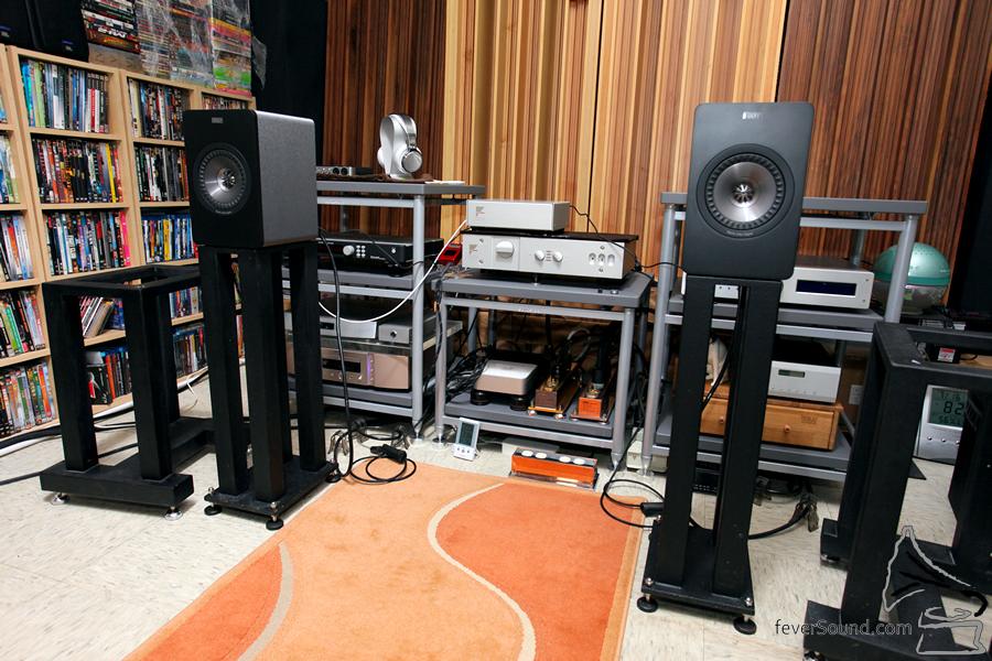 實試環境,X300A 適合近場聆聽。
