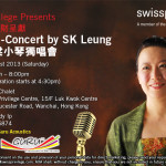Concert Flyer (Swiss Privilege)