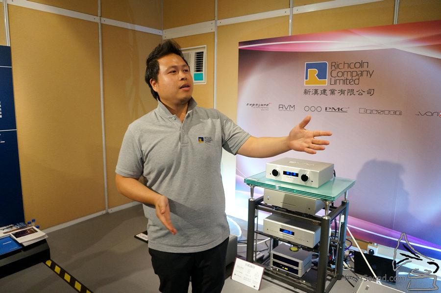 新漢建業的 Mark Wong