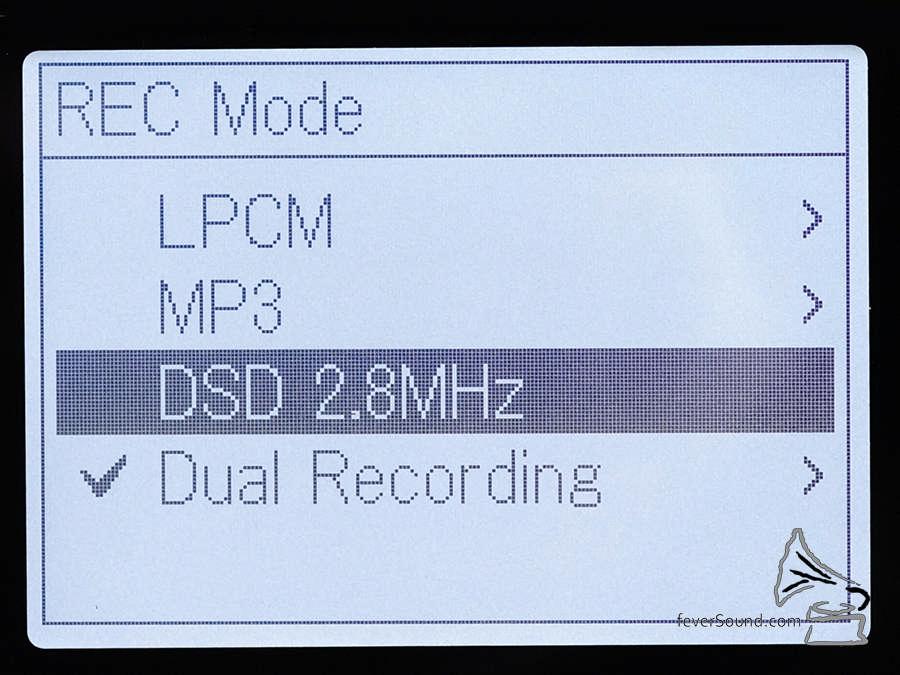 PCM-D100 可以錄 24bit / 192kHz WAV 及 DSD 2.8MHz 檔,不過兩種格式的錄音由兩粒 A/D 轉換器處理,所以不能同時錄兩種格式。