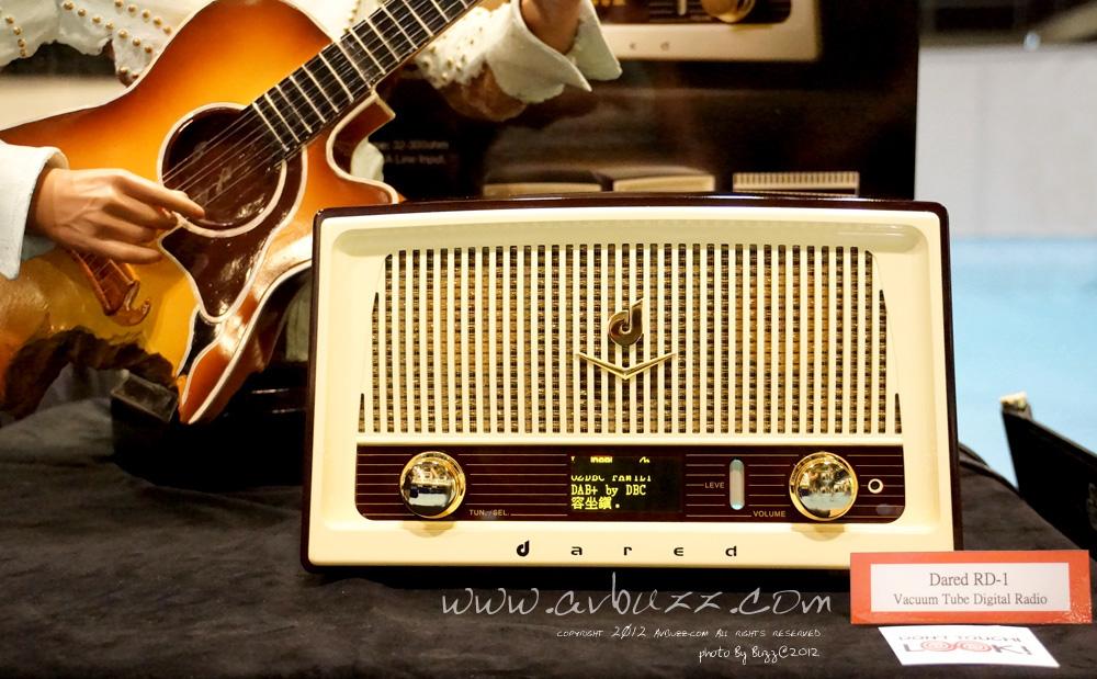 復古 DAB 收音機 RD-1 (圖片來源:avbuzz.com)