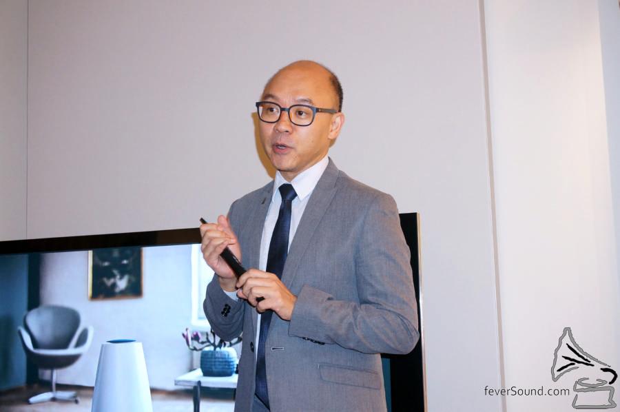 B&O 香港產品經理李啟德。