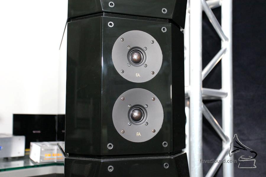 Focus Audio Master 2 使用兩隻高音。