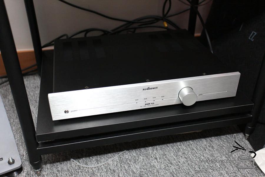 唱頭放大器則愛上德國 AudioNet PAM V2。