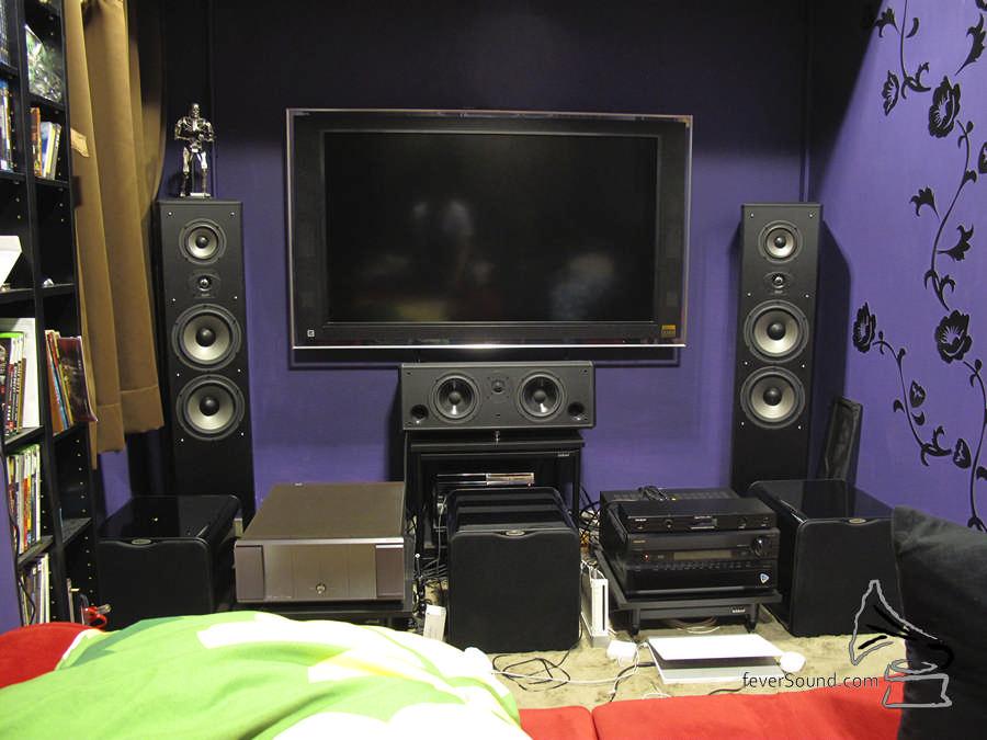 2009年Coma搬進現址,初期的器材系統是這樣子的。