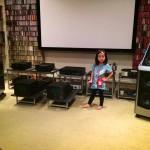 小女攝於Hi-Fi音響發燒大房