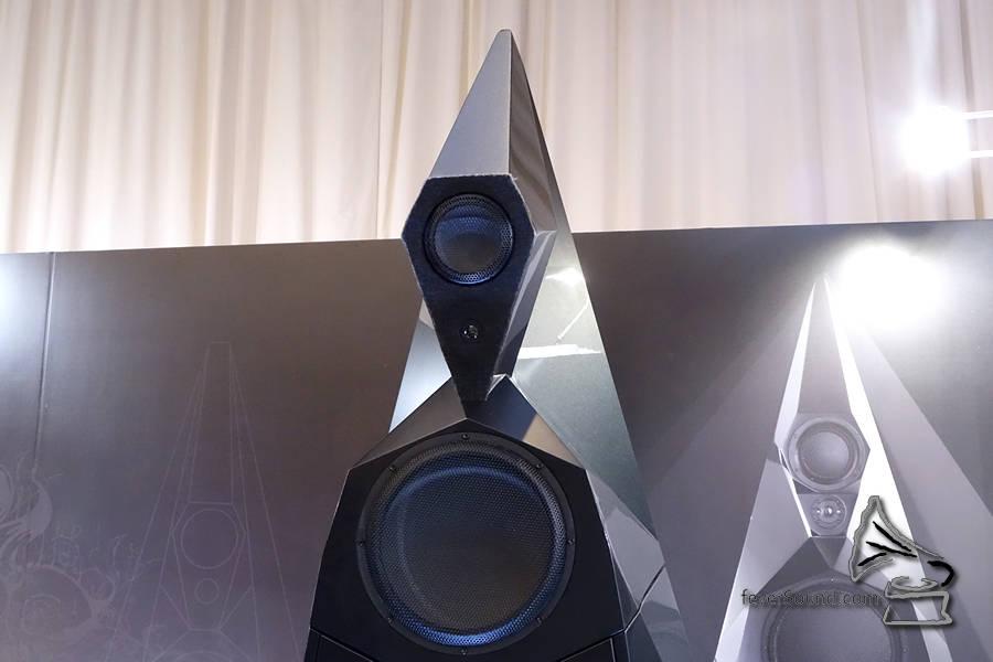 鑽石高音、陶瓷中音及低音