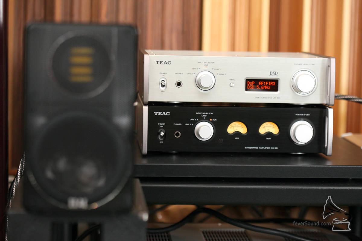 UD-501+AI-501+ELAC BS312