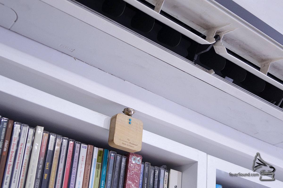 房內加了麗聲雷達校聲,加強聲場的立體感。