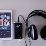 用iPad直駁,推動AKG K812,聽Tidal高音質串流,完全是高質素的聽覺享受