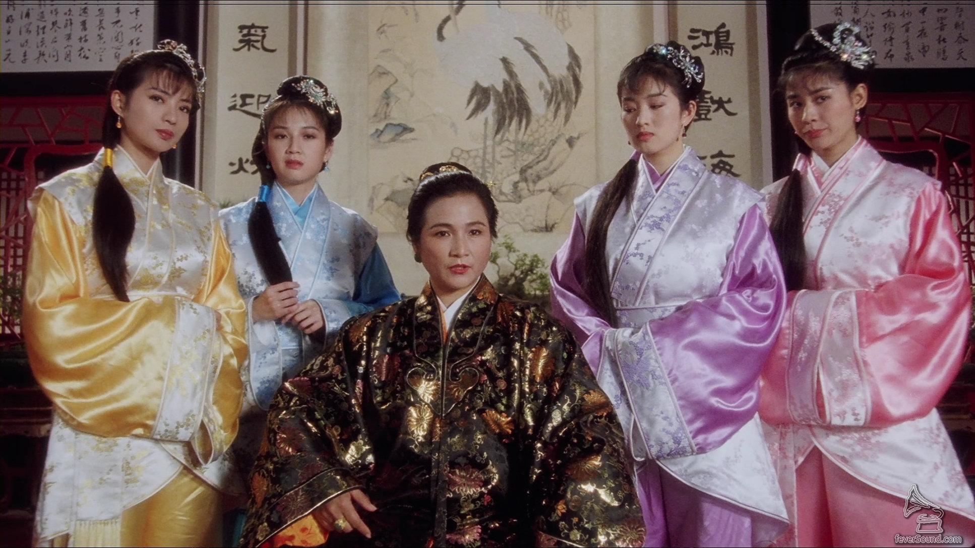 電影有不少猛人助鎮,包括鄭佩佩(圖中)、黃霑、劉家輝等