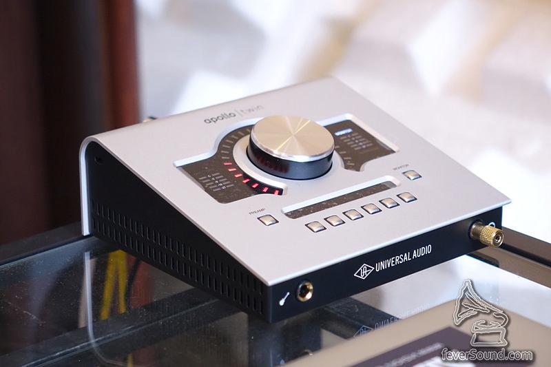 這部 Universal Audio 的 Apollo Twin 又是熟口熟面,因為我又有一部