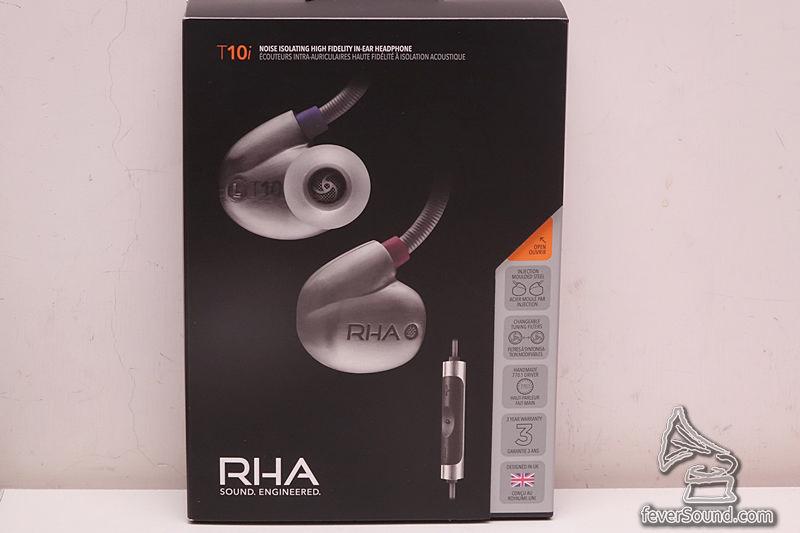 英國 RHA 高階耳塞 T10i,「i」版表示支援 iPhone