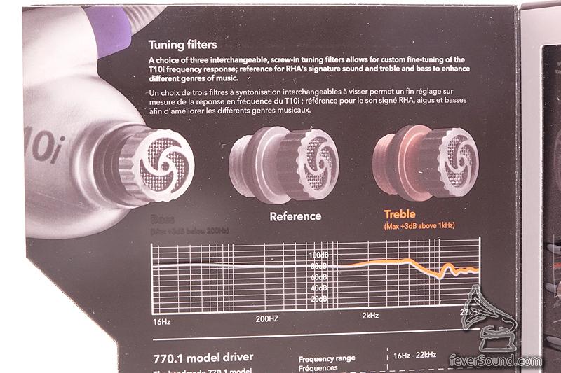 三款濾片可自行簡易轉換,改動音色不求人