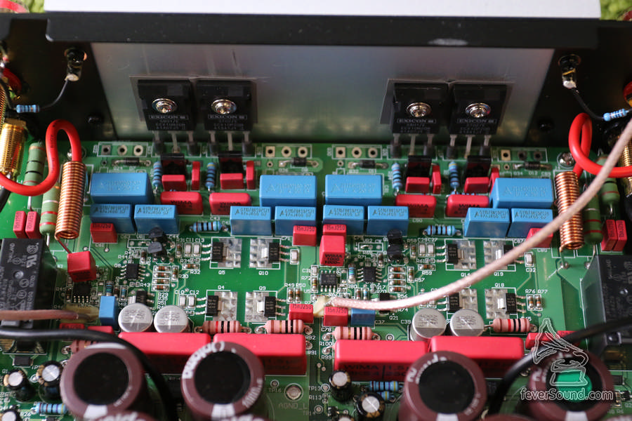 可見線路板上仍有位再安裝多一倍功率管,意味升級版大有可能跟住來