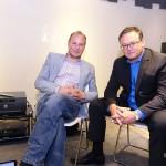 左起:Arcam 產品經理 Andy Moore 以及海外銷售經理George Robertson