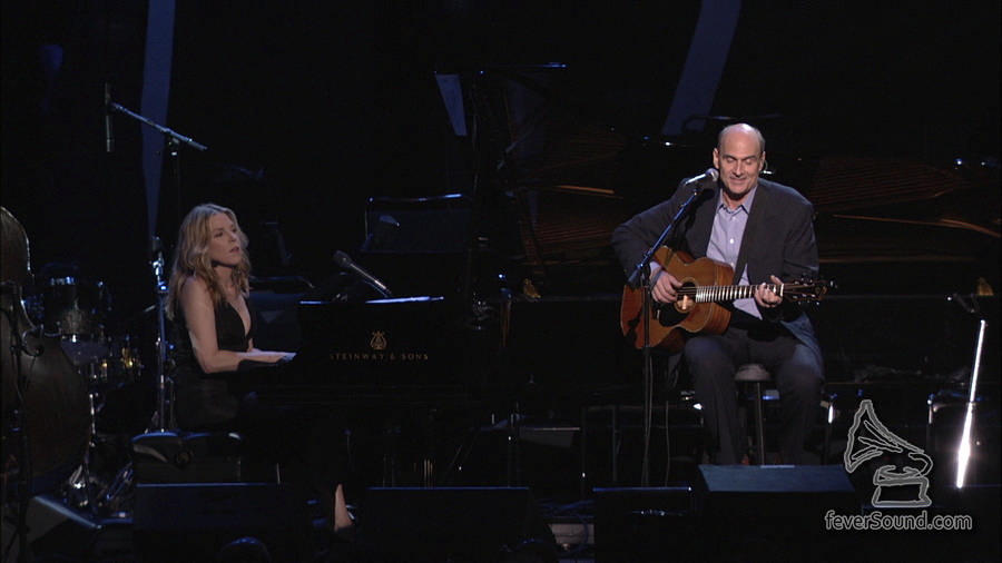 Diana Krall and James Taylor