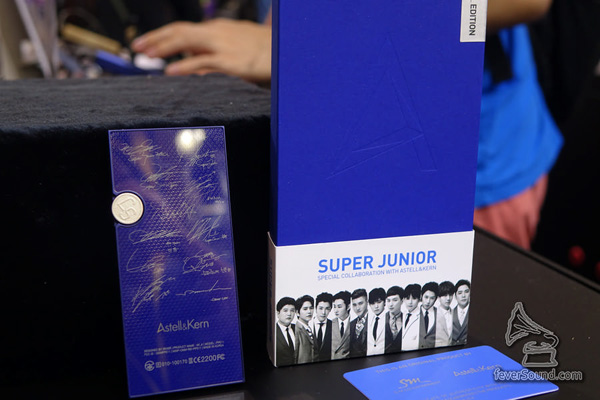 Astell&Kern 為 AK Jr 推出 SUPER JUNIOR x AK Jr 特別版,無定價!