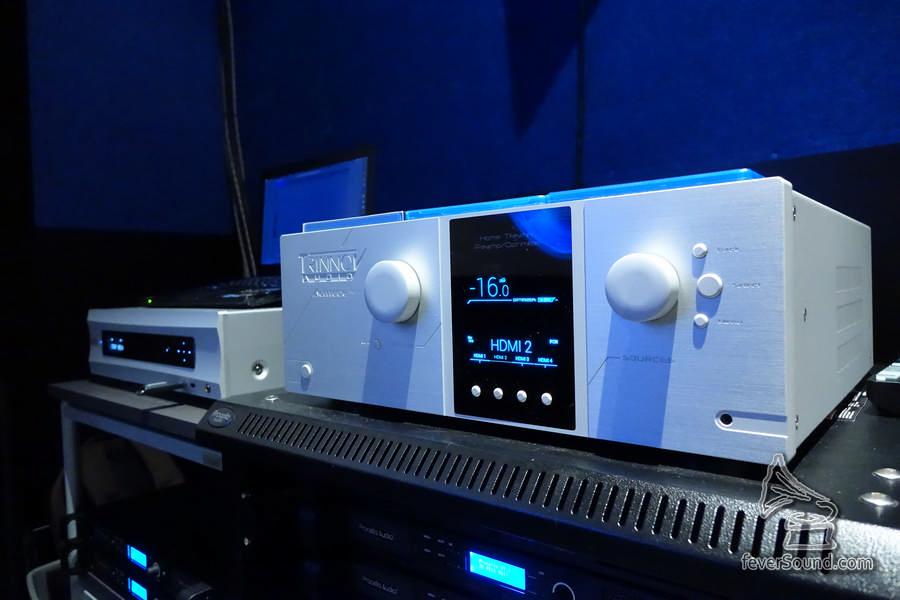 法國 Trinnov Audio Altitude 32 前級,是目前唯一可解 Dolby Atmos / DTS-X / AURO-3D 兼處理多達 32 獨立聲道的前級