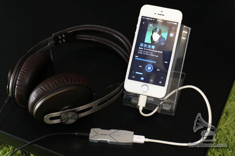 推動Over ear級的耳機,亦都完全沒有問題,很難想像這個沒有內置電池的 dac amp 有這個推力!