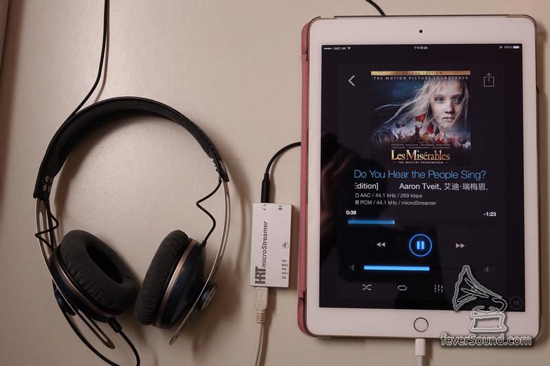 這樣一接,比單用iPad直出好聲太多了!