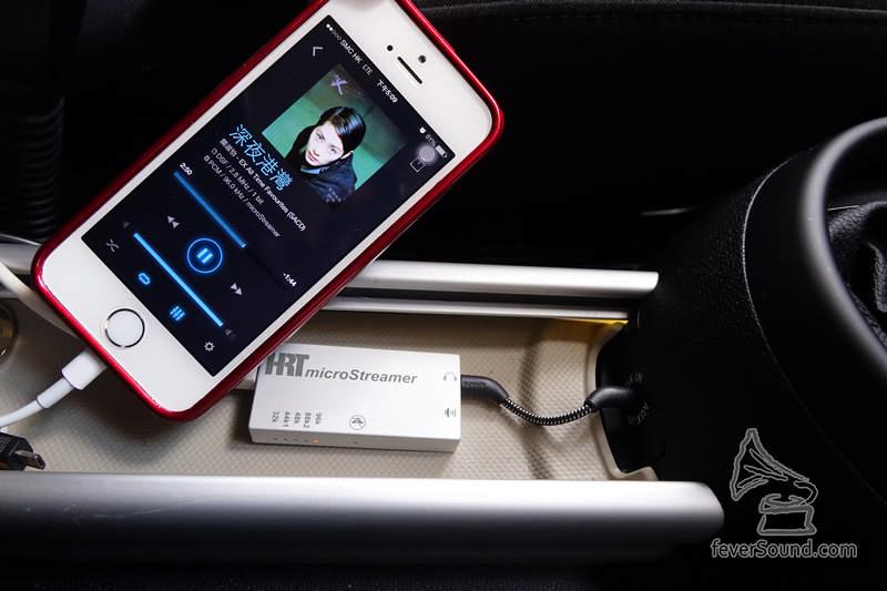 手機加USB DAC+Amp,用以代替原裝車機的DAC及訊源放大