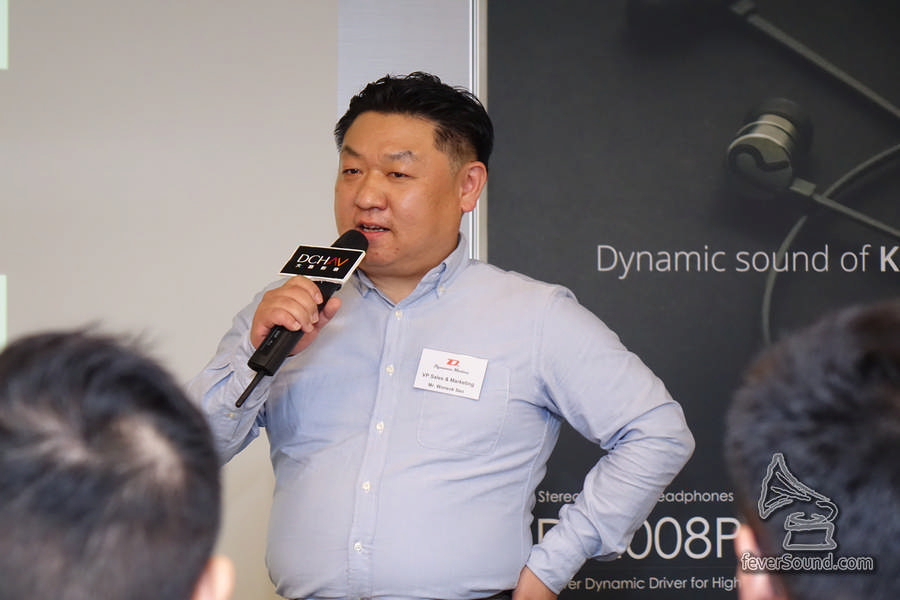 Wonsok Seo, VP Sales & Marketing of Dynamic Motion