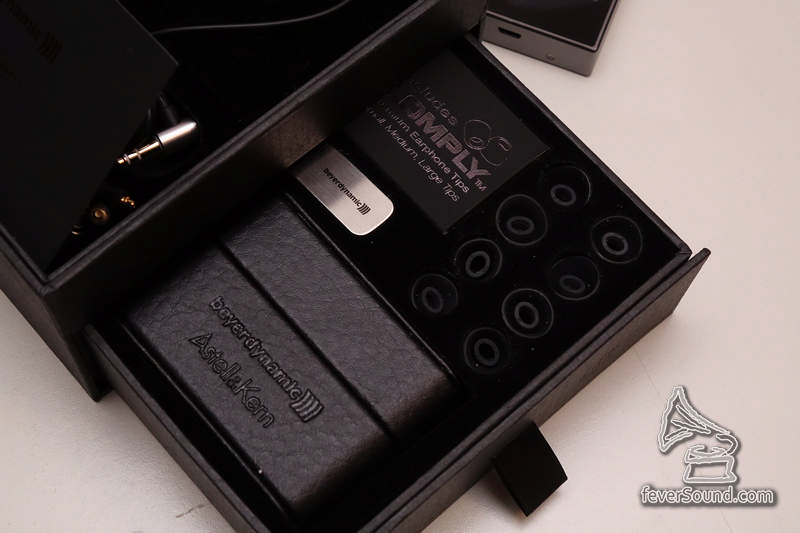 皮製便攜盒,線夾,COMPLYTM耳綿