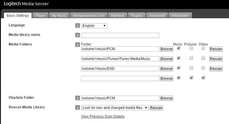 Server 可直讀 NAS 內的歌曲檔,自動讀取 metadata,支援大唱片封面
