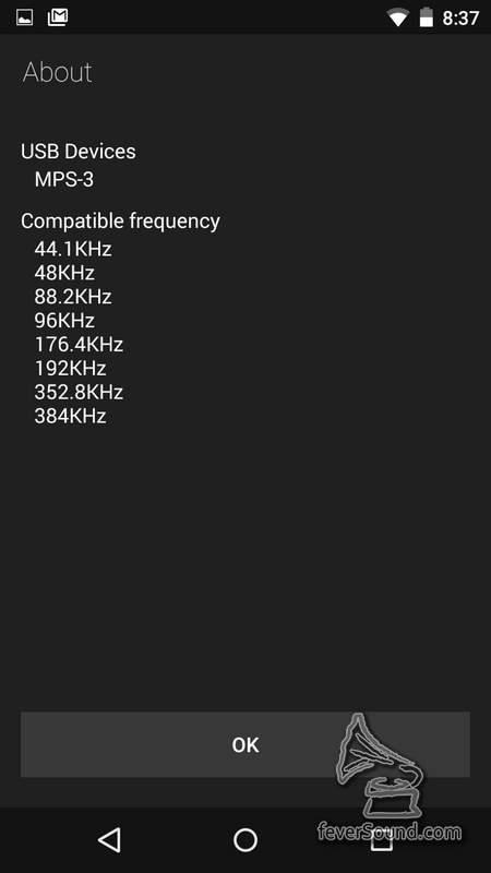 筆者採用USB OTG 線再接PlayBack Design時可以直接對應上