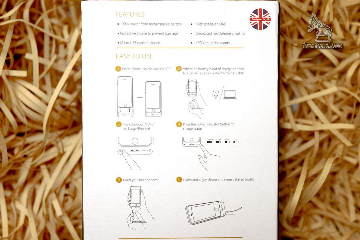 包裝盒後面已經有使用說明,簡單講,插部iPhone落去就用得