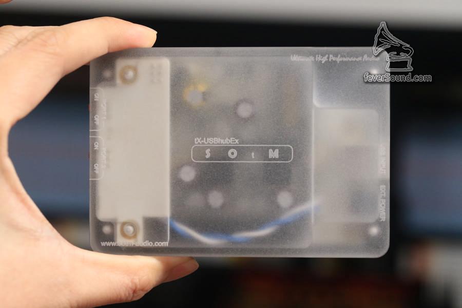 STOM tX-USBHubEx 能把USB的DC5V獨立抽出處理