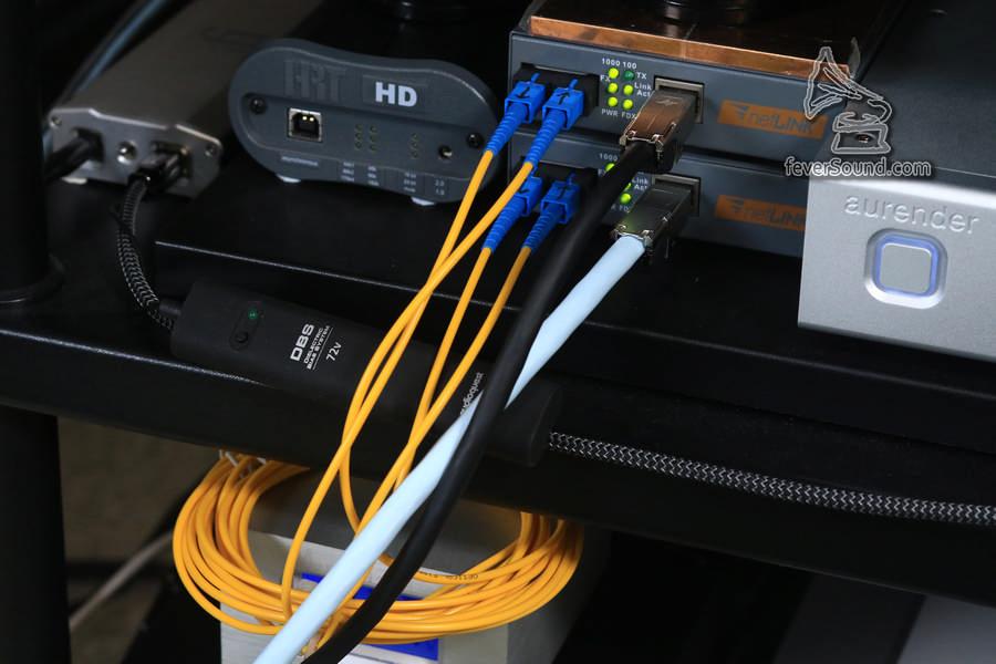 原裝淘寶的3M光纖線,十元八塊的料