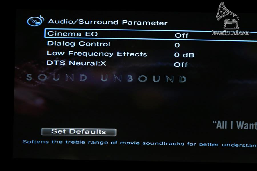 部份DTS:X音軌中加入「對白增強」選項,這意味音軌中「對白」是分開存放