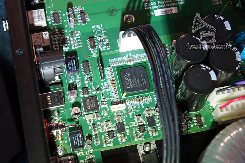 修改了編程的XMOS芯片,以及Xilinx FPGA作運算處理