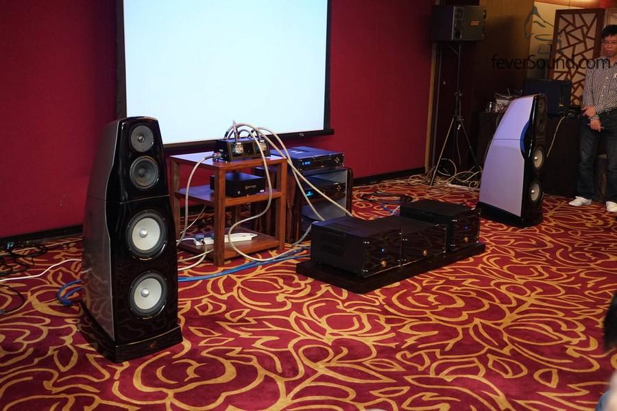 昌業音響提供全套挪威 Electrocompaninet 的器材作示範。