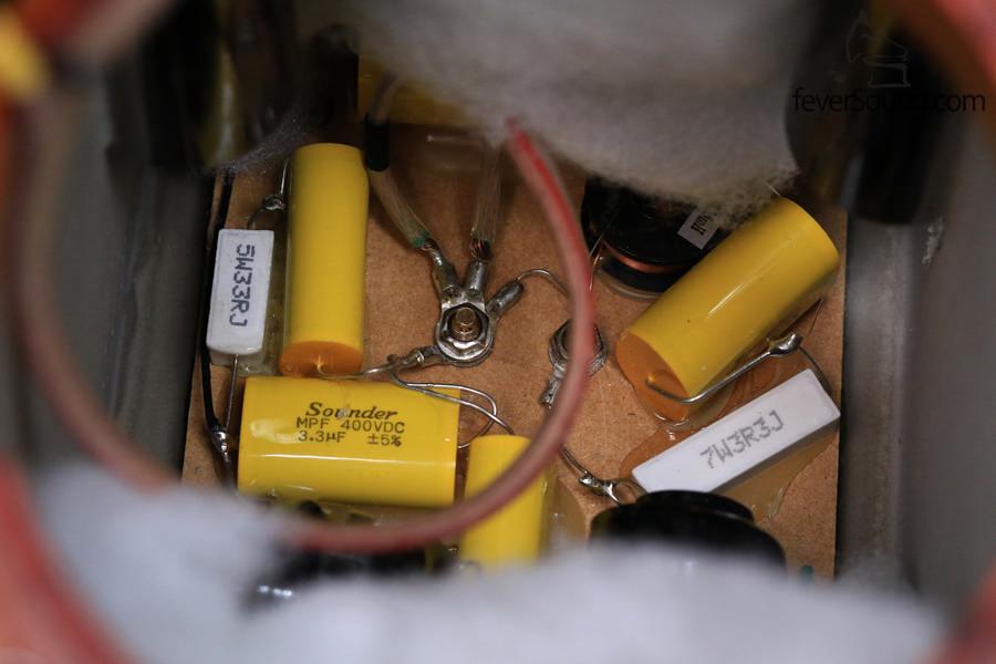 三阶分音设计的分音器,分频点在3khz