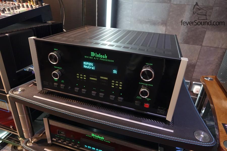 MX160 是廠方最新的影音中心,支援 Dolby Atmos,稍後也支援專業版 DTS-X