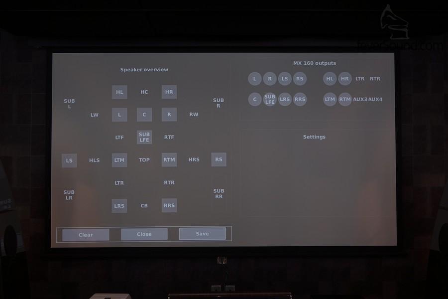 自家設計的操作界面,務求擁有 100% 麥景圖的聲音