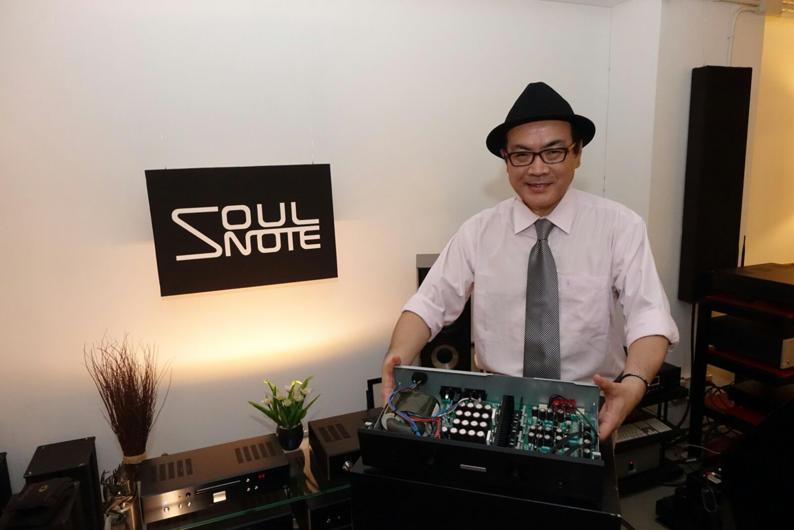 日本 Soul Note 總裁 Koki Matsubara 松原幸輝先生日前親臨 V8 HiFi