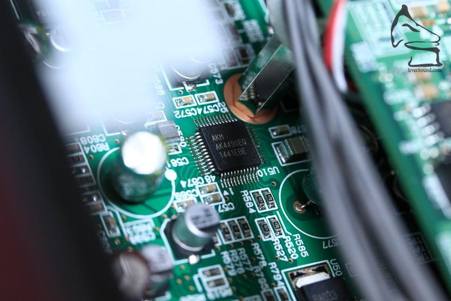 AKM解碼芯片,令PCM聲音都提高了可聽性
