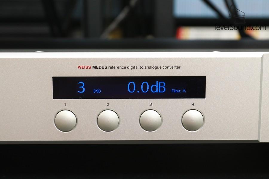 穩守解碼的部份,是本網參考解碼器,身價為18萬港元的瑞士Weiss Medus