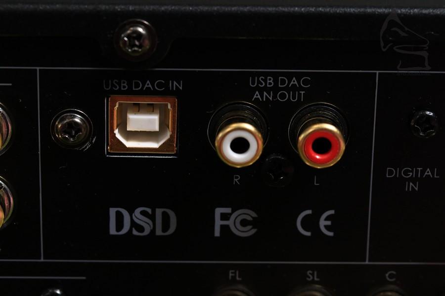 「影音合一」!HD-AVP備有USB DAC可以玩埋CAS,留意這USB支援DSD256