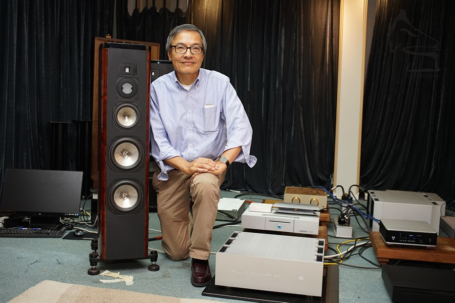 Edward Hsu, Designer/Partner of Sound Galleries
