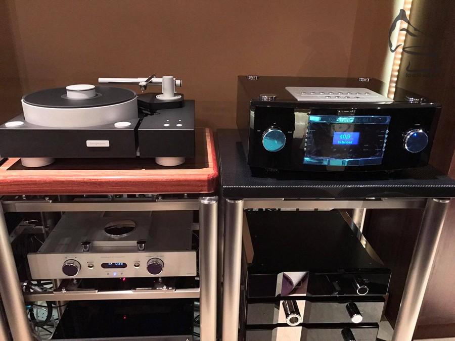 當日示範的黑膠唱盤來自丹麥Bergmann