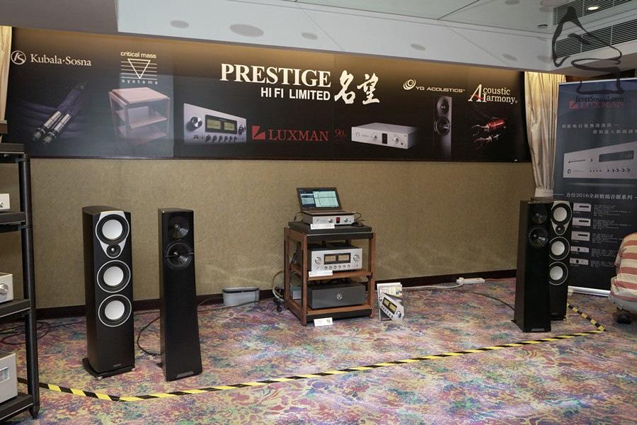 名望今年出YG Acoustic的入門座地Carmel 2 (黑色單元),售價變得親民,但音效一樣優秀