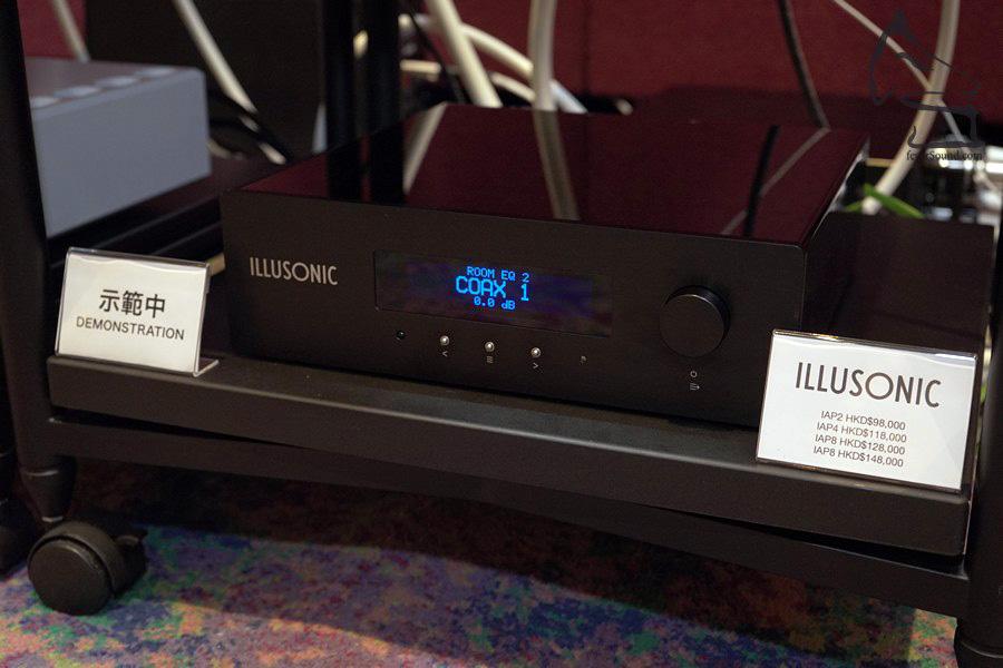 這部Illusonic的房間修正處理器IAP2,令到酒店不完善的聆聽環境,得到正面改善